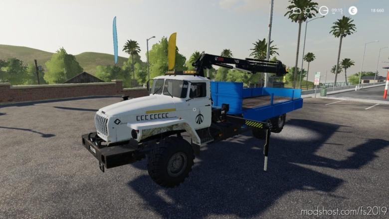 Ural With Manipulator – Alteration V0.1 for Farming Simulator 19