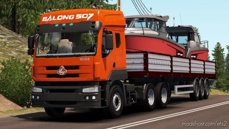 Liuqi Balong 5071S [1.38] for Euro Truck Simulator 2