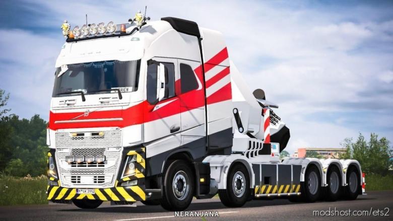 Volvo FH16 2012 Mega Mod By Rpie V1.38.1.3SR2 for Euro Truck Simulator 2