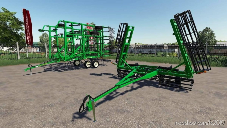 Great Plains 8328DV + Seedbed 2330SC for Farming Simulator 19