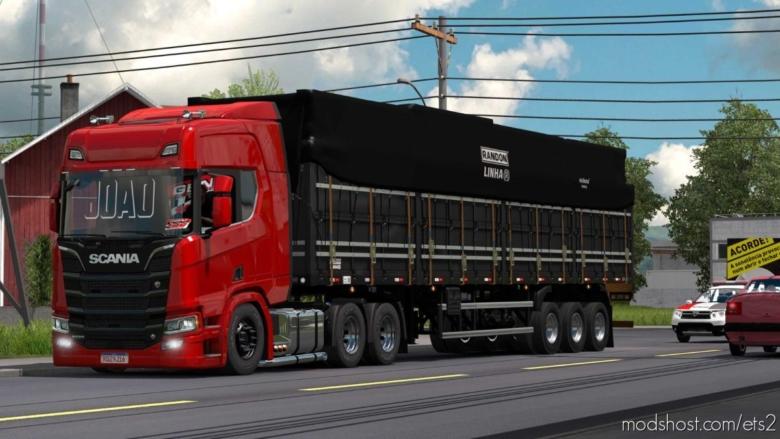 Scania Redzin [1.38] for Euro Truck Simulator 2