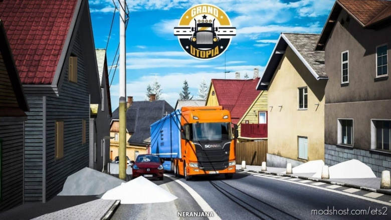 Grand Utopia Map V2.0 [1.38] for Euro Truck Simulator 2