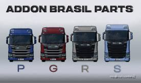 Addons Brazilian Parts Scania Next GEN (Eugene) [1.38] for Euro Truck Simulator 2