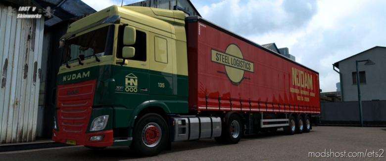 Nijdam Transport DAF XF E6 Combo for Euro Truck Simulator 2