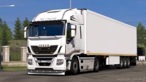 Iveco Hi-Way Custom + LUX Interior [1.38] for Euro Truck Simulator 2