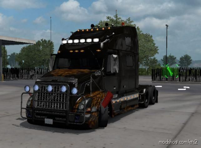 Volvo VNL Custom [1.38] for Euro Truck Simulator 2