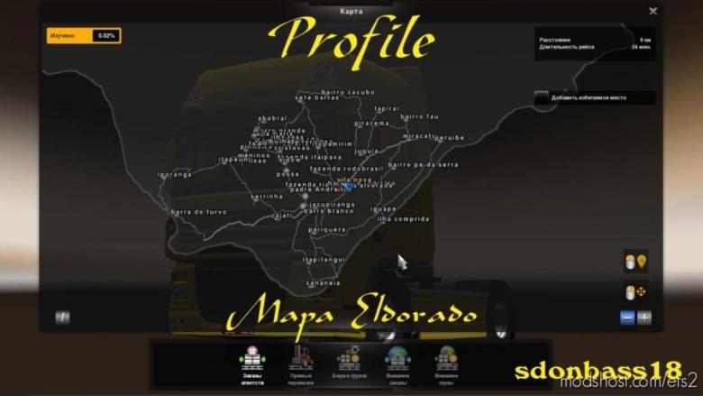 Profile For The Map Eldorado Free for Euro Truck Simulator 2