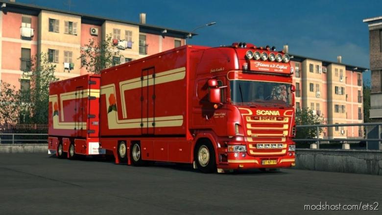Scania V8 Crackle Version V11 [1.38] for Euro Truck Simulator 2