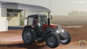 MTZ 1221 Belarus V1.0.0.1 for Farming Simulator 19