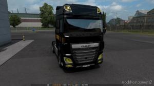 DAF Yellow Headlights for Euro Truck Simulator 2