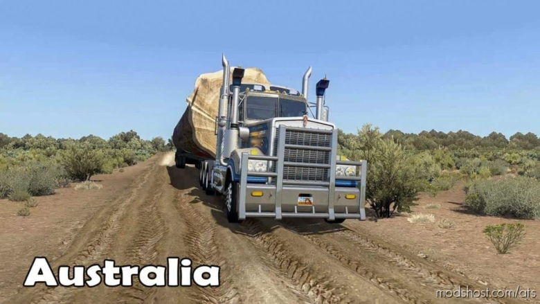 Australia Outback Map Mod [1.38] for American Truck Simulator