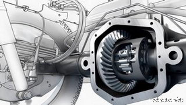 E-F Rtlo-Xx913/18 Gearboxes + Diffs Addon [1.38] for American Truck Simulator