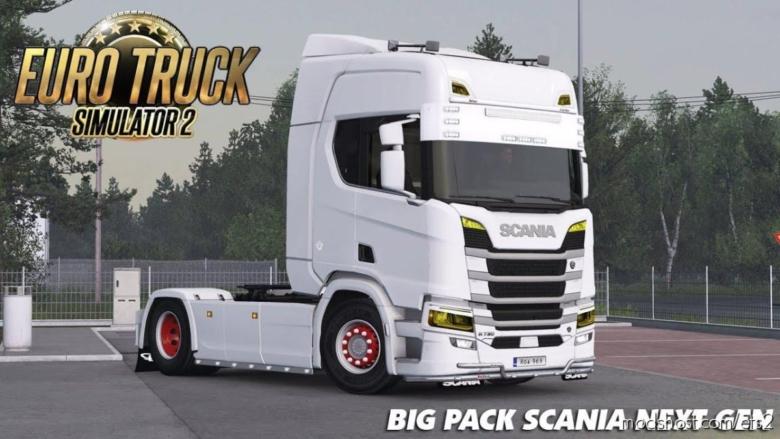 BIG Pack Scania Next GEN V1.5 [1.38] for Euro Truck Simulator 2