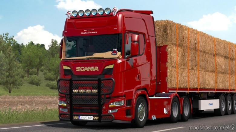 Scania S520 V8 Holland [1.38] for Euro Truck Simulator 2