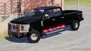 2020 Ford F250 Slicktop Ghost Fixed V2.0 for Farming Simulator 19
