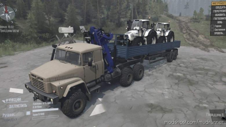 Kraz-260 Truck V20.09.20 for MudRunner