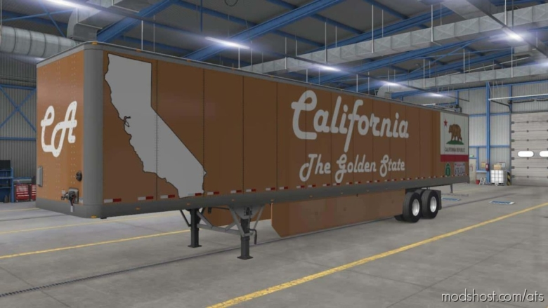 West Region Trailers [1.38.X] for American Truck Simulator