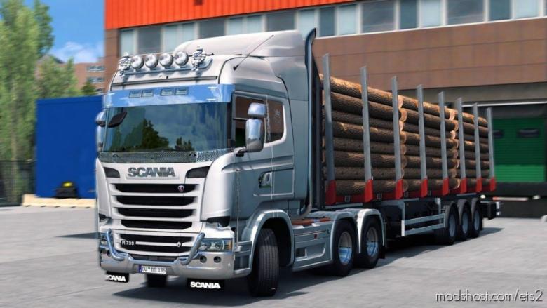 Scania V8 Euro 6 Stock Sound Fmod Conversion [1.38] for Euro Truck Simulator 2