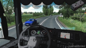 Real Interior Camera Mod [1.38] for Euro Truck Simulator 2