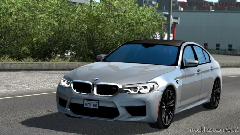 BMW M5 F90 V1R40 [1.38] for Euro Truck Simulator 2