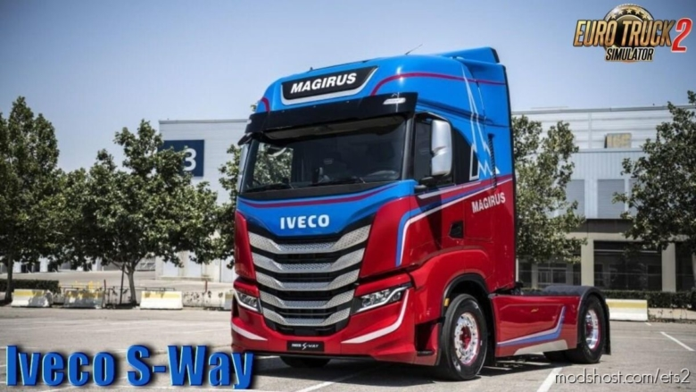 Iveco S-Way 2020 + Interior V3.0 [1.38] for Euro Truck Simulator 2