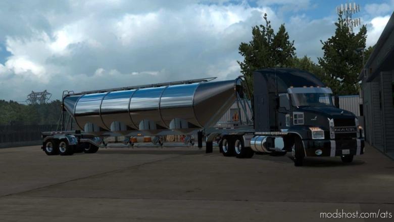 The Heil J&L Drybulk Tanker Ownable Updated [1.38] for American Truck Simulator