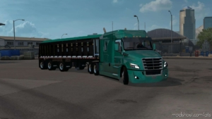 The Cobra Black Triaxle Dump Ownable [1.38] for American Truck Simulator