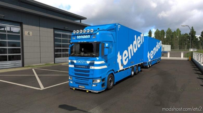 Tenden Scania S Tandem V1.1 for Euro Truck Simulator 2