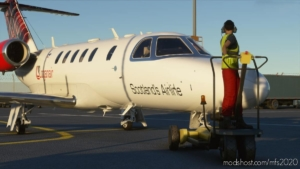 Cessna CJ4 Loganair for Microsoft Flight Simulator 2020