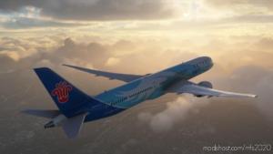China Southern Airline B787 for Microsoft Flight Simulator 2020