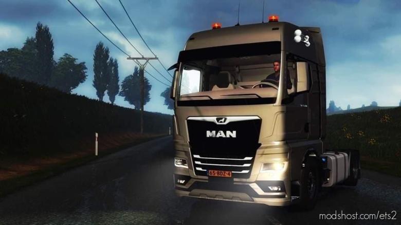 MAN TGX [1.38] for Euro Truck Simulator 2
