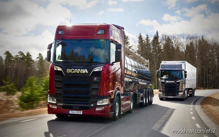 Scania Nextgen DC16 Sound Mod [1.38] for Euro Truck Simulator 2