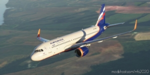 "Aeroflot Russian Airlines A320Neo Vp-Bpq ""A. Dobrynin"" V1.1 for Microsoft Flight Simulator 2020"