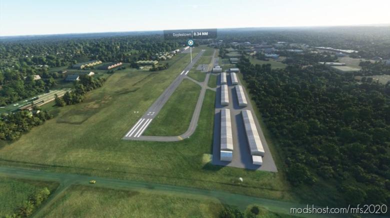 Kdyl – Doylestown Airport for Microsoft Flight Simulator 2020