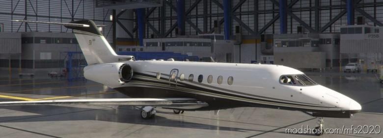 Cessna Longitude Recolor for Microsoft Flight Simulator 2020