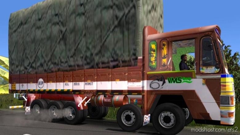Heavy Load Lorry (16 Wheels) [1.38] for Euro Truck Simulator 2