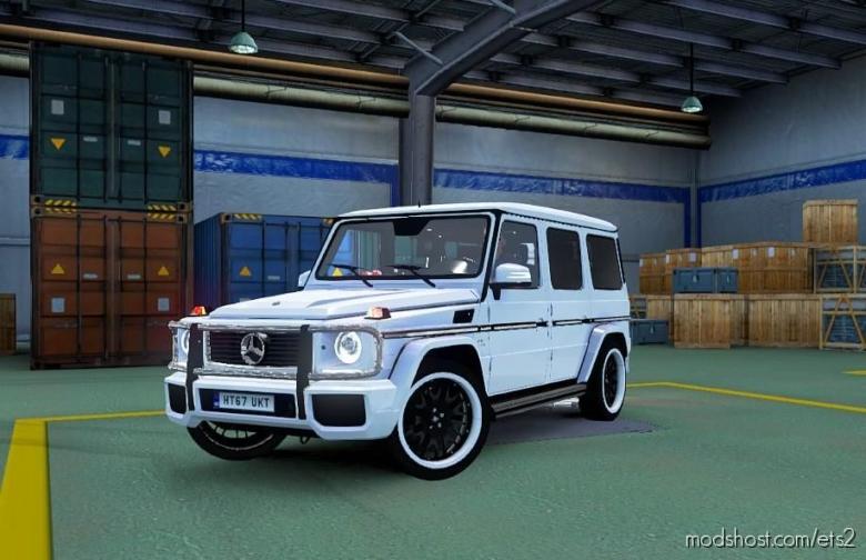 Mercedes Benz G Class [1.38] for Euro Truck Simulator 2
