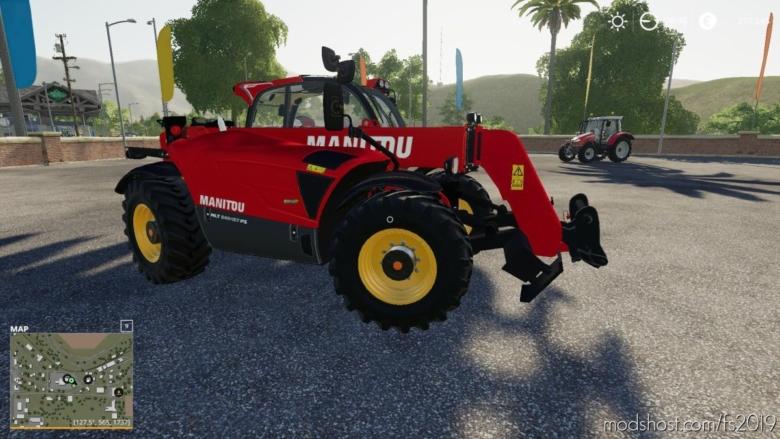 Manitou MLT 737 for Farming Simulator 19