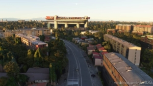 SAN Siro Stadium (Milan) for Microsoft Flight Simulator 2020