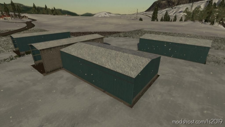 Pack Bunker Silo Covered for Farming Simulator 19