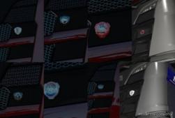 Front Badge For Scania RS Nextgen for Euro Truck Simulator 2