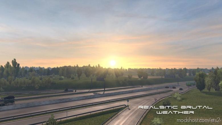 Realistic Brutal Weather V5.6 [1.38] for Euro Truck Simulator 2