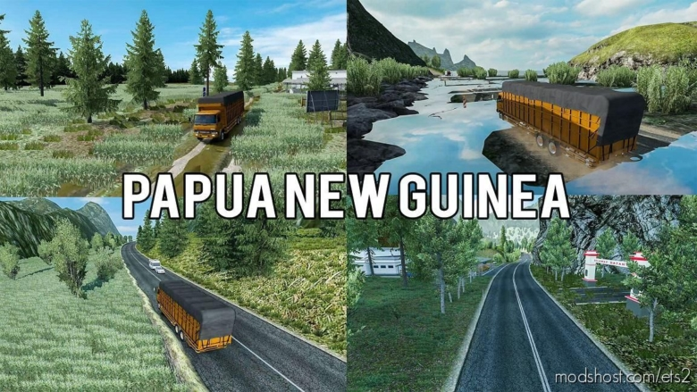 Rework Map Freeport (Papua NEW Guinea) By Oje_Peje Team for Euro Truck Simulator 2