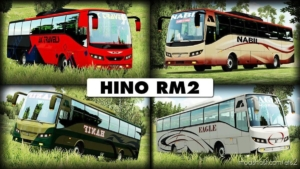 Hino RM2 (Exclusive) [1.31 – 1.38] for Euro Truck Simulator 2