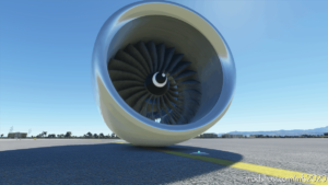 Flying Engine For Microsoft Flight Simulator 2020 for Microsoft Flight Simulator 2020