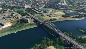 Arnhem – John Frost Bridge for Microsoft Flight Simulator 2020