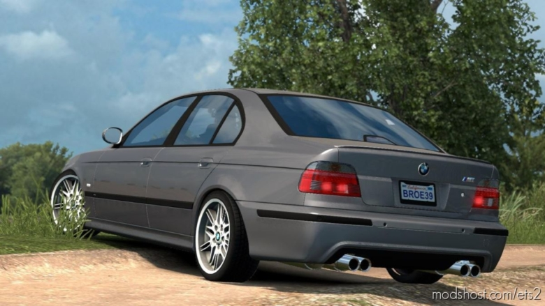 BMW M5 E39 V1R40 [1.38] for Euro Truck Simulator 2