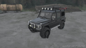 Mercedes-Benz G500 V06.05.19 for MudRunner