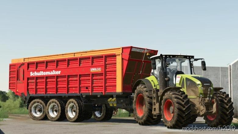 Schuitemaker Siwa840 for Farming Simulator 19