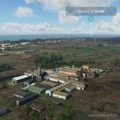 Phog Kahului Maui Approach Landmark – Puunene Sugar Mill Scenery, Hawaii for Microsoft Flight Simulator 2020